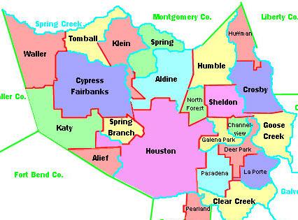 Houston Area School Districts