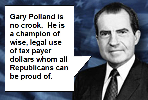 Nixon vouches for Polland