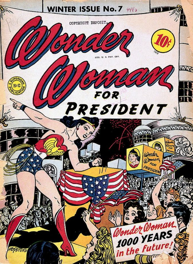 wonder woman for president