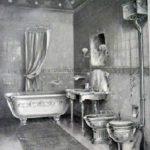 The Bath and Water Closet at 221B Baker Street